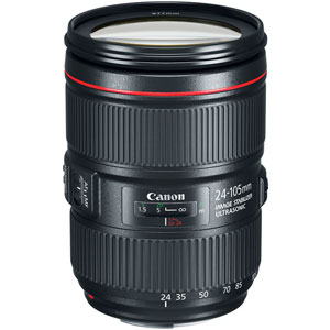 Canon EF 24-105mm f4L IS II USM - 2 Year Warranty - Next Day Delivery