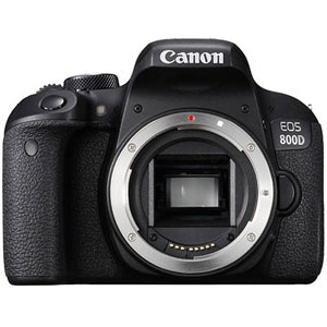 Canon EOS 800D 24.2 MP DSLR Camera - 1080p - Next Day Delivery
