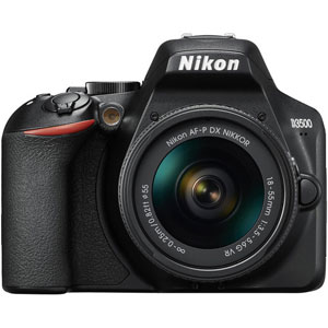 Nikon D3500 Digital SLR with 18-55 AF-P VR (Black) - 2 Year Warranty - Next Day Delivery