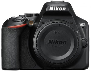 Nikon D3500 Camera Body - 2 Year Warranty - Next Day Delivery